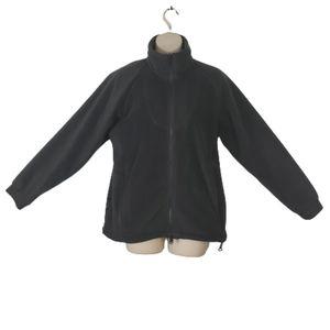 5/$30 COLUMBIA gray full zip sweater small